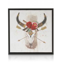 Tableau Flower Skull