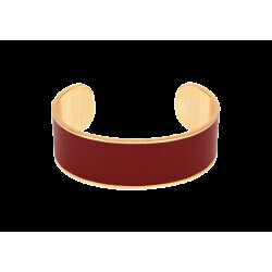 Bracelet Bangle Up Jonc Bangle rouge obscur 2 cm
