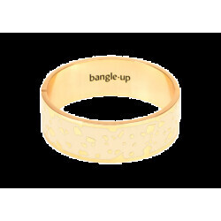 Bracelet Bangle-Up Lucy Blanc Sable Taille 2 2cm