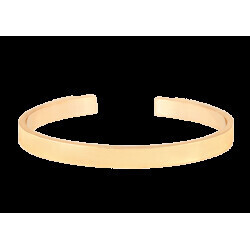 Bracelet Bangle-Up jonc ouvert ajustable en laiton doré 0,44cm