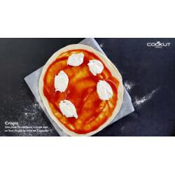 Crispiz, plaque à pizza en pierre réfractaire