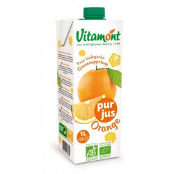 Jus d'orange Bio sans sucre ajouté | Magasin ABC Bio Marly