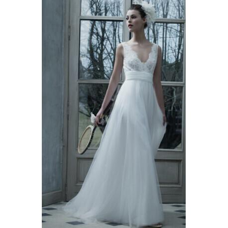 Robe de mariée style bohème chic | Cymbeline