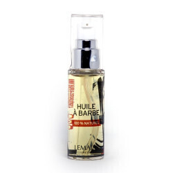 Huile à Barbe Homme - 30ml - LEMAIRE COSMETIQUES