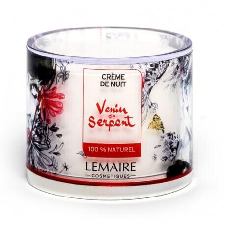 """Crème de Nuit """"Venin de Serpent"""" - 50ml - LEMAIRE COSMETIQUES"""