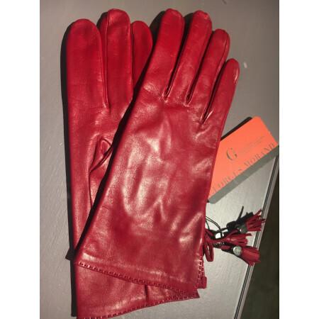 Gants rouge Georges Morand