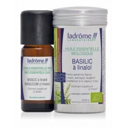 Huile essentielle de basilic à linalol bio