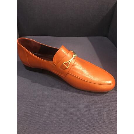 Mocassin dany couleur orange Avril Gau