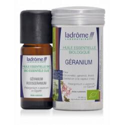 Huile essentielle de géranium bio