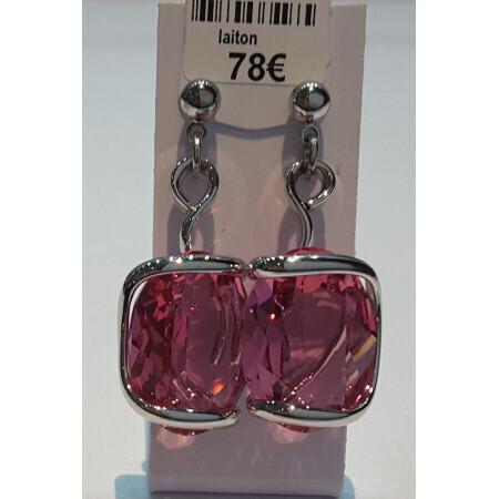 Boucles d'oreille Marazzini cristal de Swarovski