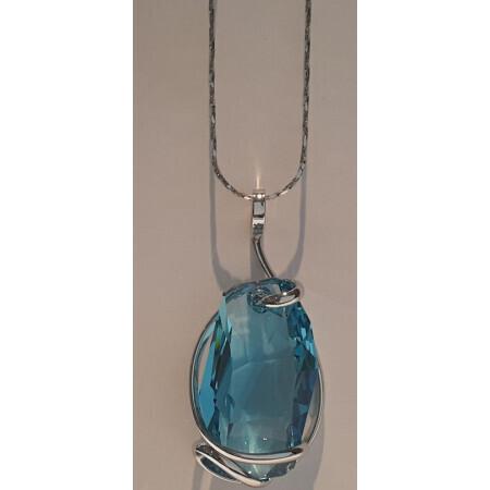 Chaîne pendentif Andrea Marazzini cristal de Swarovski