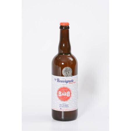 Bière La Rouvignole La Barb Blonde Triple Bio 7,5° 75cl