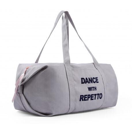 Sac polochon en coton Dance with Repetto