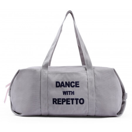 Sac Repetto danse polochon moyen en coton Dance with Repetto