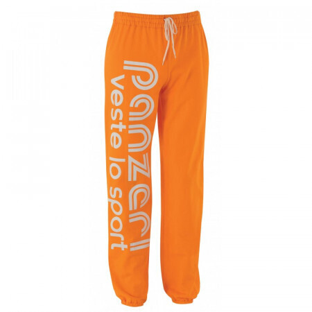 Pantalon Panzeri Orange/blanc