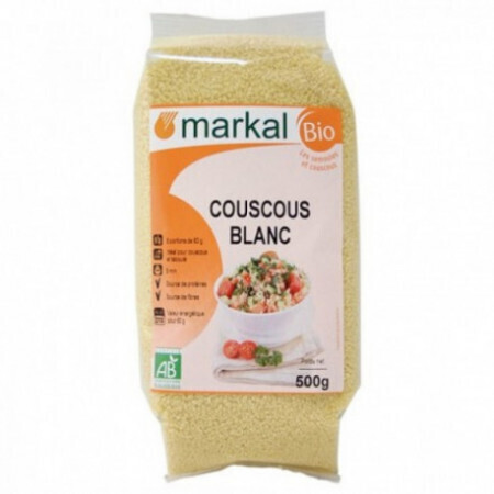 Couscous blanc Markal 500g - Bio | Magasin ABC Bio à Marly