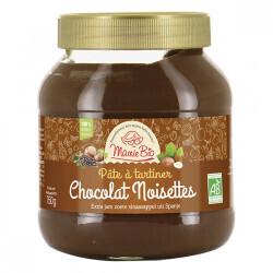 Pate à tartiner noisette et cacao Mamie Bio 750gr   abc bio à marly