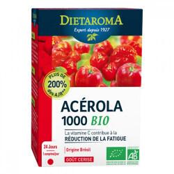 Pilulier acérola 1000 goût cerise Dietaroma   ABC BIO à marly