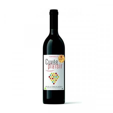 Vin rouge Cuvée Plaisir 75cl