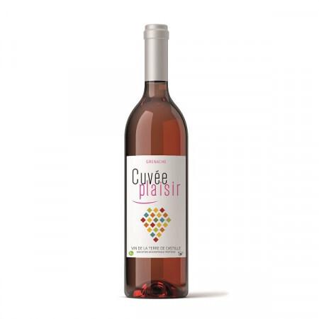 Vin rosé Cuvée Plaisir 75cl