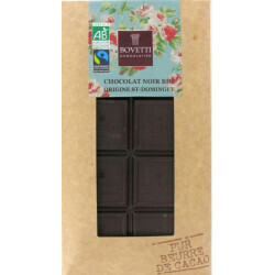 Chocolat noir Saint Domingue 73% Bovetti 100g