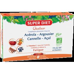 Super Diet quatuor acérola tonique lutter contre la fatigue 300ml