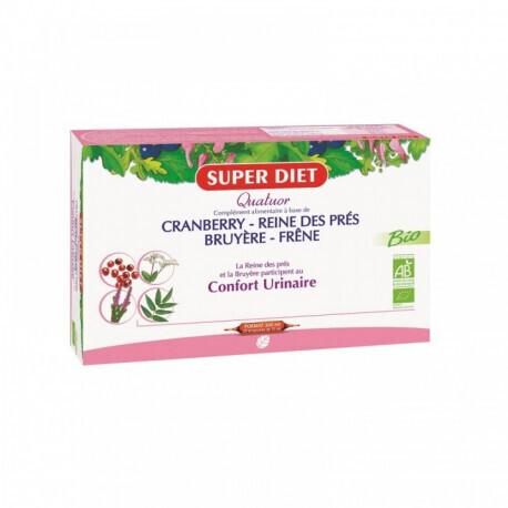 Super Diet quatuor cranberry reine des près confort urinaire 300ml