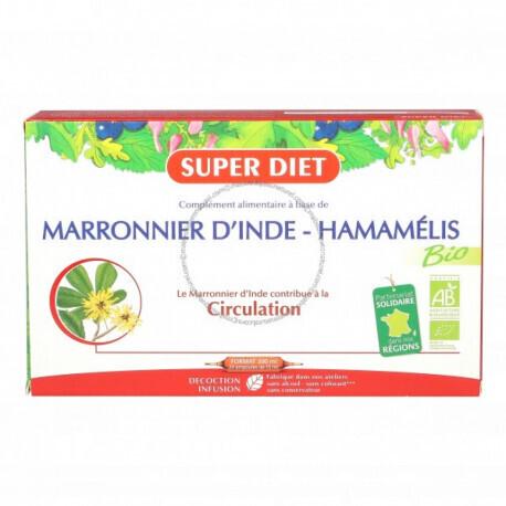 Super Diet marronnier d'Inde hamamélis circulation 300ml