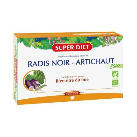 Super Diet radis noir artichaut bien-être du foie 300ml