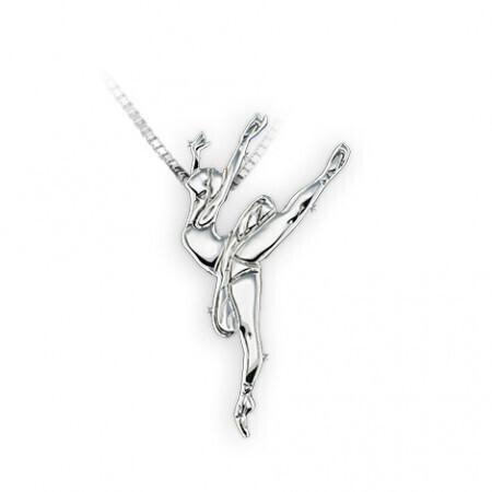 Collier pendentif danseuse classique MIKELART