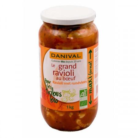 Le grand ravioli au boeuf Danival 1kg
