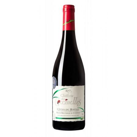 Vin rouge merlot Château coccinelle 75cl