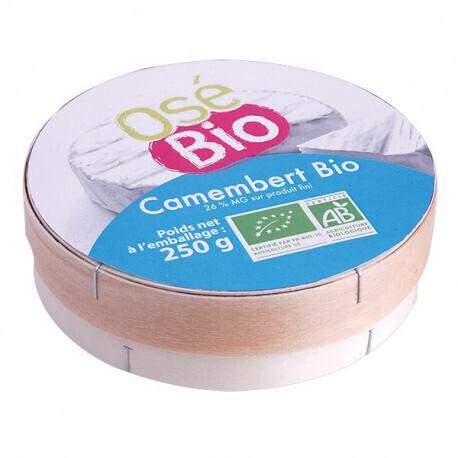 Camembert Osé Bio 250g
