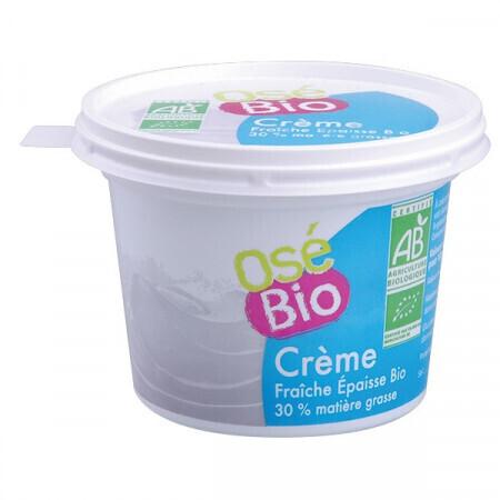 Crème fraîche de vache Osé Bio 200g