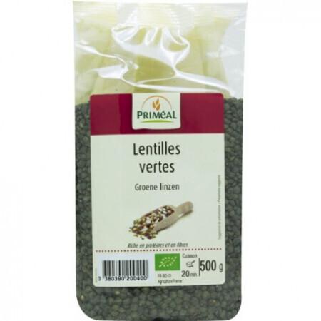 Lentilles vertes Priméal 500g
