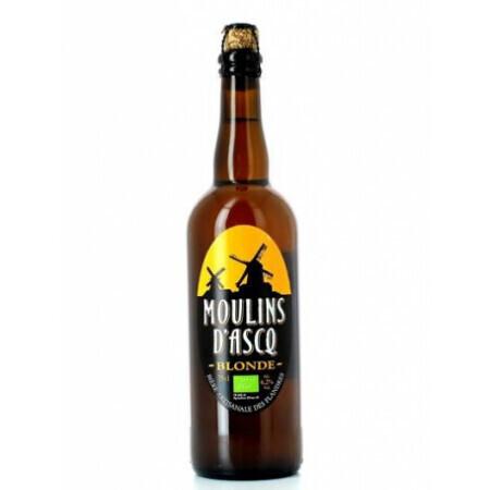 Bière blonde Moulins d'Ascq 75cl