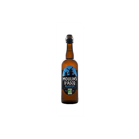 Bière blanche Moulins d'Ascq 75cl