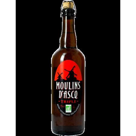 Bière triple Moulins d'Ascq 75cl
