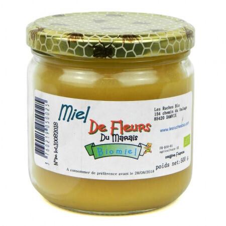 Miel de fleurs Aux délices des abeilles 500g