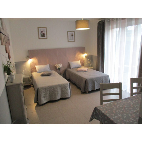 Chambre Prunelle twin_ Les Pruniers - Cambrai