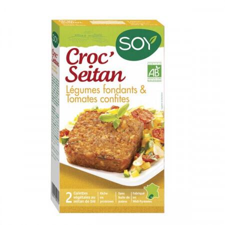 Croc seitan légumes fondants SOY 2x100g