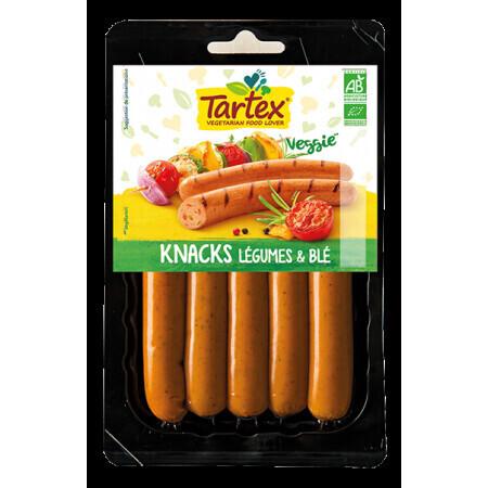 Knacks Légumes & Blé Tartex 200g