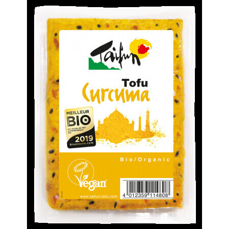 Tofu curcuma Taifun. Pour végétariens et végétaliens | ABC Bio à Marly