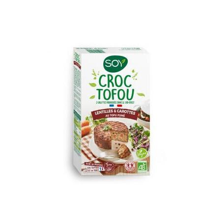 Croc Tofou Lentilles & Carottes au tofu fumé SOY 2x100g
