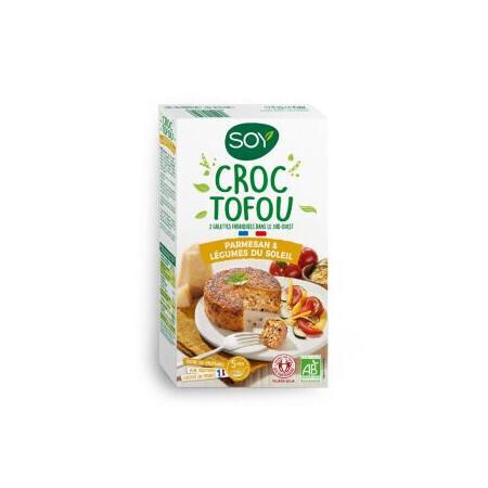 Croc Tofou Parmesan & Légumes du soleil SOY 2x100 g