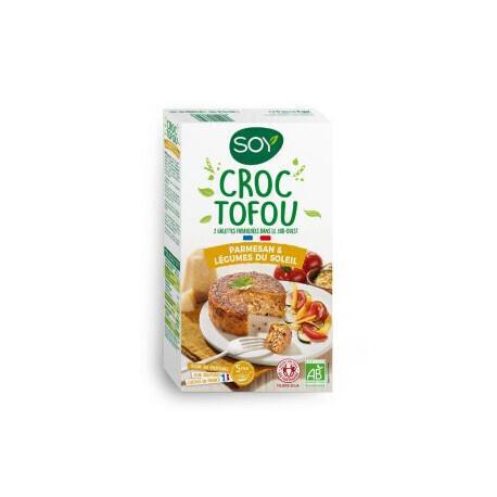 Croc Tofou Parmesan & Légumes du soleil SOY   ABC Bio à Marly