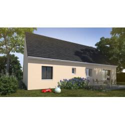 Maison individuelle, 2 chambres + garage, Vieux-Condé