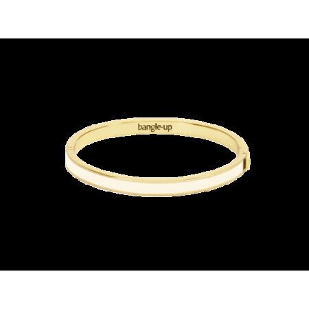 Bracelet Bangle up Blanc sable