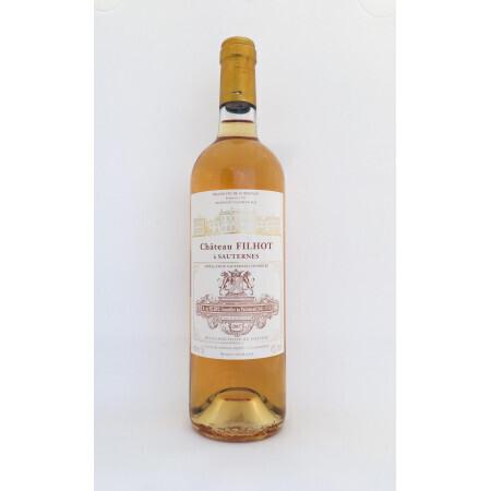 Vin Blanc - Sauternes - Chateau Filhot - 2007 - Grand cru classé