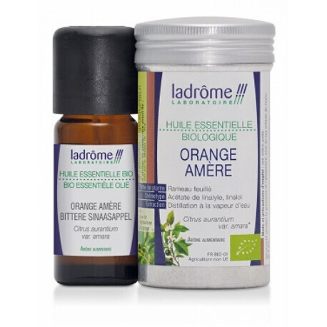 Huile essentielle d'orange amère bio (Petit grain bigarade)